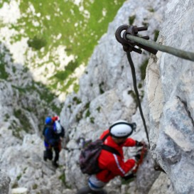 Via ferrata in Apuseni Vartop