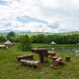 Glamping & Fishing in Maramures