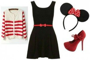 Minnie Little Black Dress